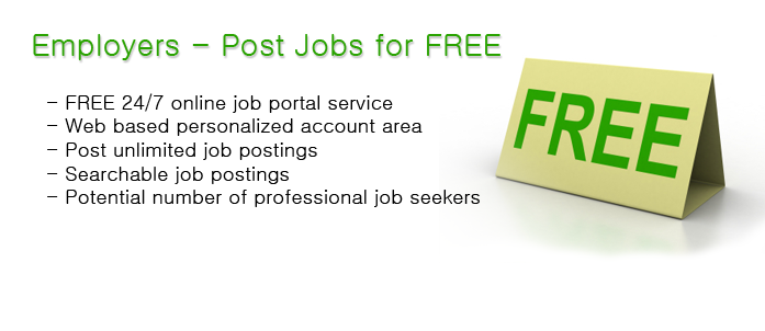 Employers can post jobs free to over 50 websites with 1 click! Free job postings to multiple websites!